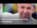 Unemployed Pope Francis is praying for you