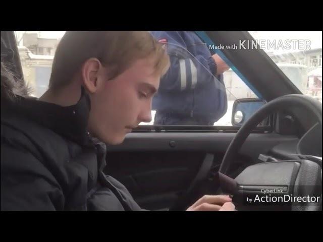 Безграмотный ИДПС Хорошко, из полиции МО МВД Каменск-Уральский