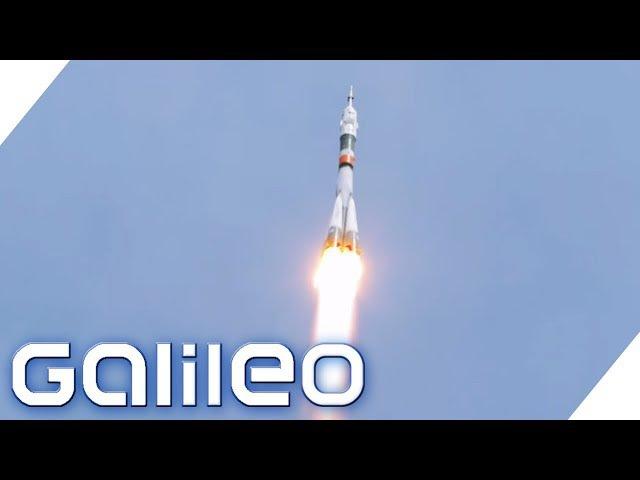Spektakulärer Raketenstart auf dem Weltraumbahnhof Baikonur | Galileo | ProSieben