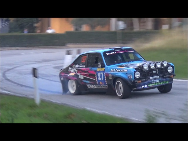 Ford Escort MK2 vs Fiat 131 Racing - Frank Kelly vs Paolo Diana at Rally Legend 2017!