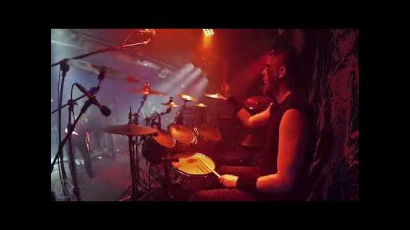 BLAZE OF PERDITION@Ashes Remain-DQ-Live in Poland 2018 (Drum Cam)