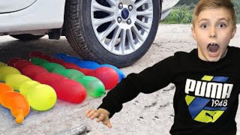 КРУШИМ очень много шариков Челлендж
