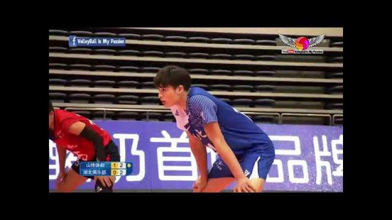 Shandong (山东) vs Hubei(湖北) | 23-11-2017 | Chinese Men's volleyball super league 2017/2018