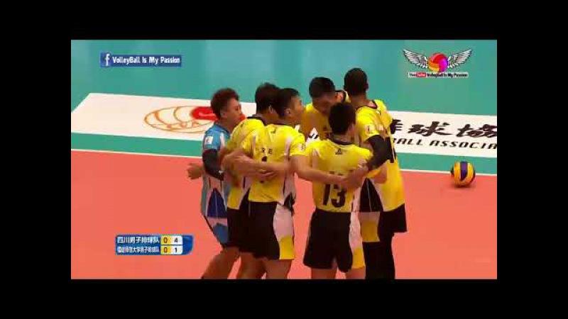 Sichuan (四川) VS Fujian (福建 ) | 19-11-2017 | Chinese Men's volleyball super league 2017/2018