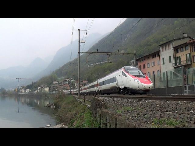 2016 Capolago-Riva (CH) ETR 610, Rabde500 » Freewka.com - Смотреть онлайн в хорощем качестве