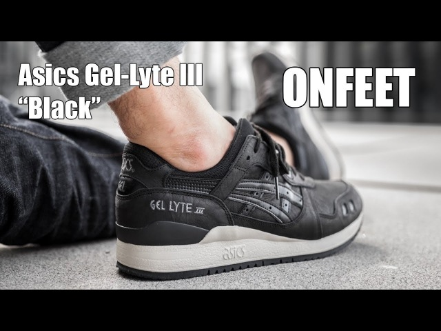 Asics Gel-Lyte III Black (HL7V3-9090) Onfeet Review   sneakers.by