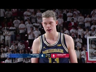 Michigan vs Maryland Basketball 2018 (Feb. 24)