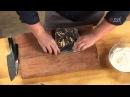 Копченая утка с яблочным суфле