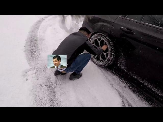 CRASHED MY CHRYSLER 300 SNOW DRIFT FAIL