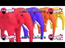 Learn Color Elephant Animal W Surprise Eggs Fruit Cartoon Nursery Rhymes for Children - 2018