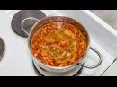 Cолянка домашняя суп с колбасой