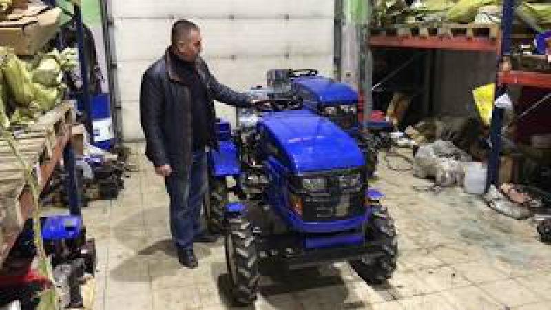 Обзор тракторов Русич Т-12, Т-15 (Чувашпилер-120, 150)