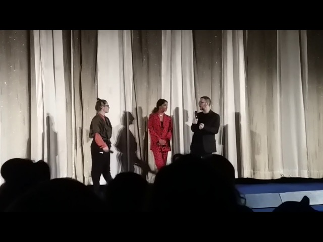 M.I.A. and Steve Loveridge QA at Berlinale 2018