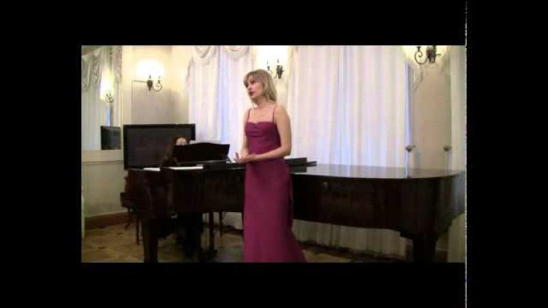 СВИДАНИЕ - БУЛАХОВ - Светлана Саратовкина (контральто)