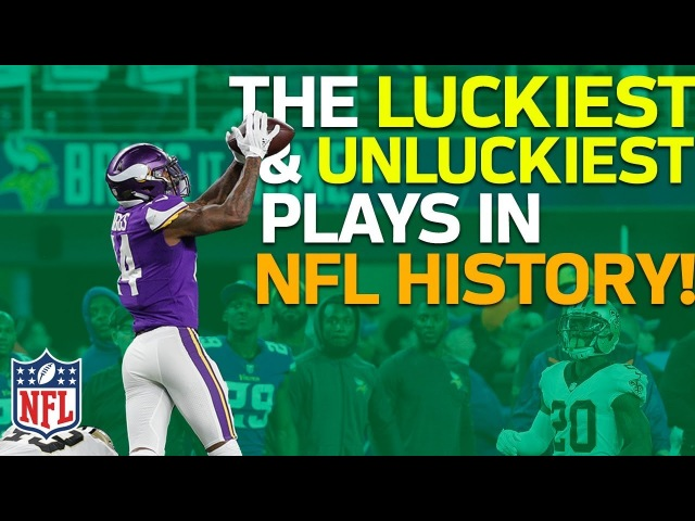 The Luckiest Unluckiest Plays in NFL History | NFL Highlights