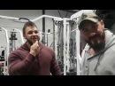 Энтони Вейлент и Реган Граймс – Тренировка спины и позирование. Бодибилдинг Мотивация 2018