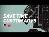 Save Time with Custom Render Passes AOVs in Redshift for Cinema 4D