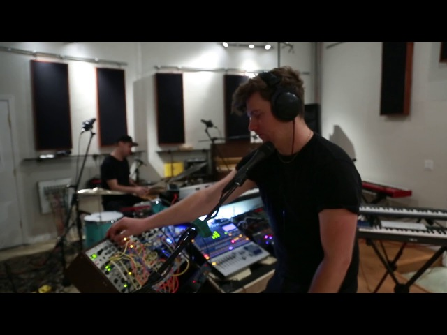Drum and Synth live jam with Dan Bailey and Stefan Mac at North Dwarf Records