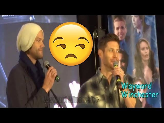 Jensen Ackles 'We Love Misha People Get MAD At Me Now!' SPN DC Con 2017