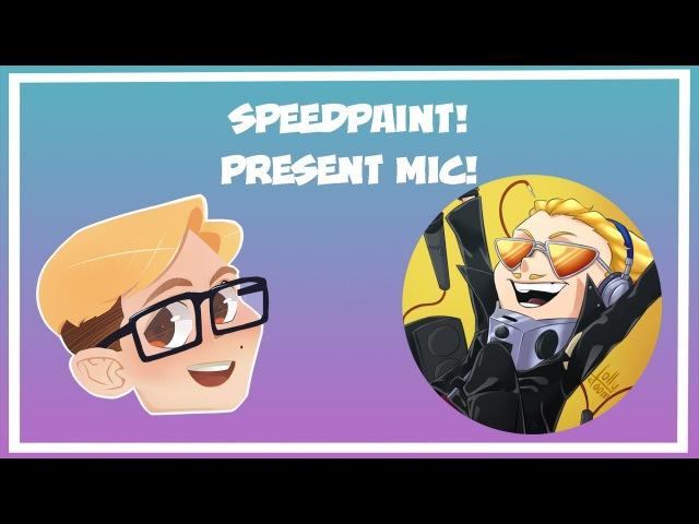 Speedpainting - Present Mic