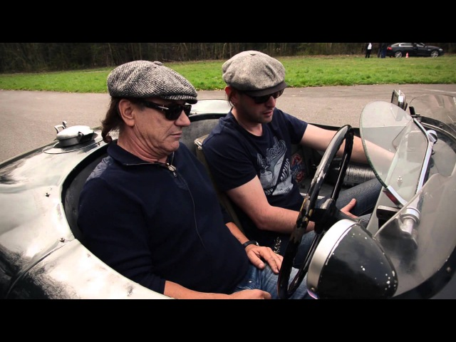 AC-DC frontman Brian Johnson on racing Jaguars, the Mille Miglia and his rabbits nose...