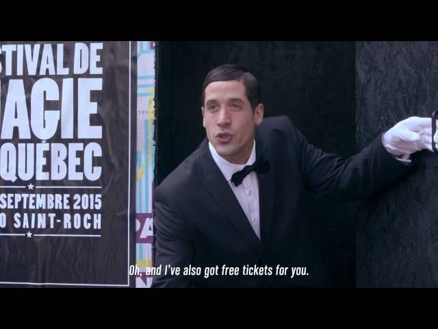 Quebec City Magic Festival - The Magician