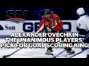 Ovechkin is the unanimous pick for best goal scorer among NHLers'