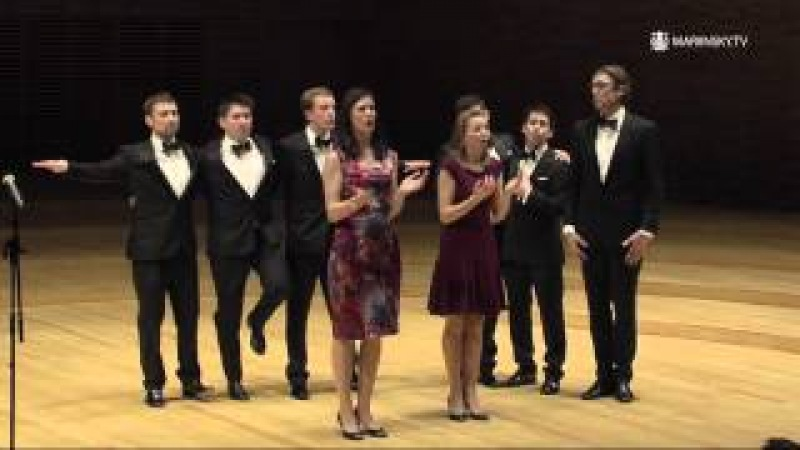 The vocal ensemble VOCES8 at the Mariinsky