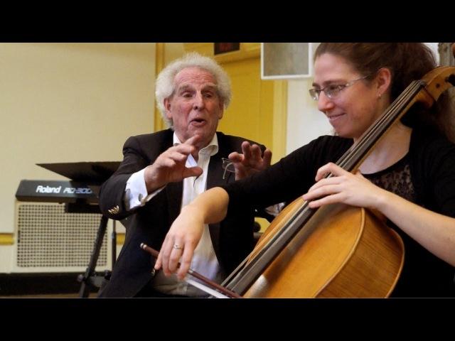 Interpretation Class: Debussy - Sonata for Cello and Piano in D Minor