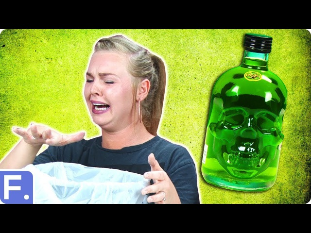 People Try Absinthe For The First Time
