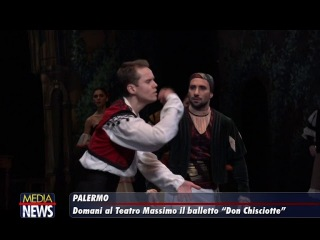 Don Chischiotte, il balletto di Petipa al Teatro Massimo a Palermo