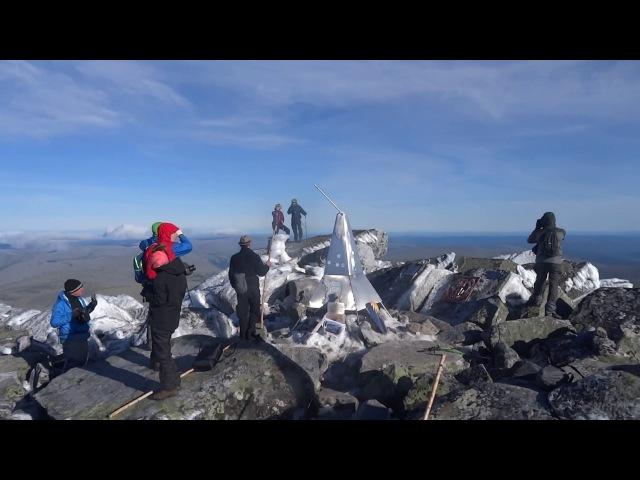 Вершина горы Народная. Ледяной вогульский ад
