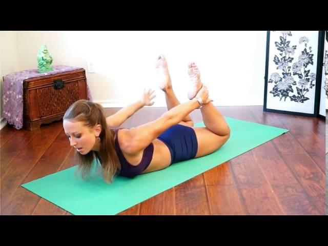 Yoga for Digestion Detox – 20 Minute Beginners to Intermediate Yoga Workout Erica Vetra
