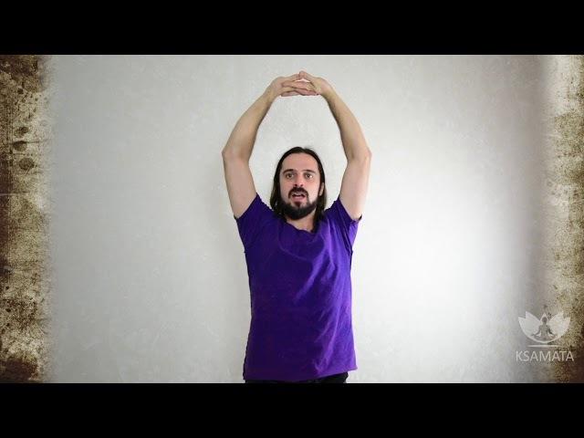 МЗ 3 Вытягивающее упражнение для снятия усталости и напряжения