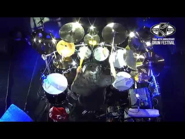 TAMA 40th Anniversary Drum Festival - Daray Brzozowski, Part 1