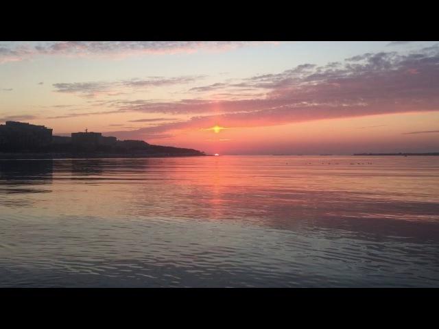 Волшебный закат в Геленджике
