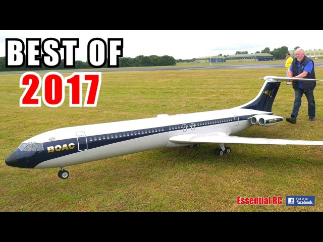 ③ BEST OF ESSENTIAL RC 2017 | LARGE SCALE AND FAST RC ACTION