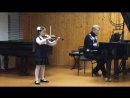 Veronika Gremyachikh (9 лет). Ж.Ф. Рамо - Тамбурин (Tambourin). Концертмейстер Белов Д.А.