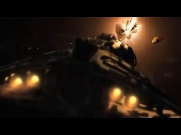 Звездные врата: Вселенная Нападения инопланетян на космический корабль древних