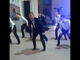 Крутой танец хоккеистов ГУУ на свадьбе Дениса Остроменского