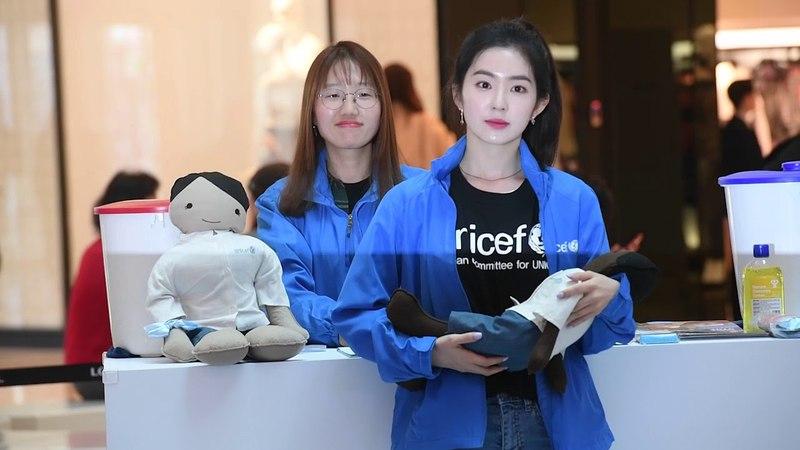 [HK영상] 레드벨벳 아이린, 유니세프도 인정한 청초한 미모