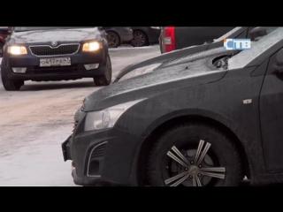 Жителей ЖК Заречье просят переместить личный автотранспорт