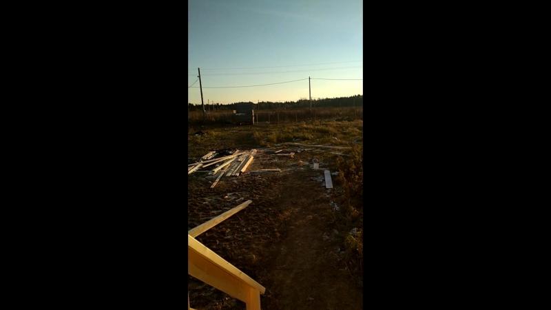 Баня 4х6 с террасой