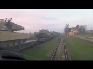 Bulgarien - USA stationieren militärische Ausrüstung in der Nähe der Küste des schwarzen Meeres