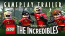 LEGO The Incredibles Official Parr Family Gameplay Trailer