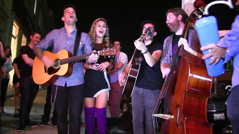 Stay With Me Haley Reinhart Casey Abrams Mark Ballas Dylan Chambers Room 5 Afterparty 6-25-14