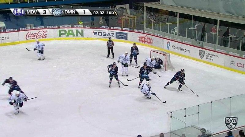 Моменты из матчей КХЛ сезона 17/18 • Гол. 4:1. Франсис Паре (Медвешчак) оформил дубль 15.11