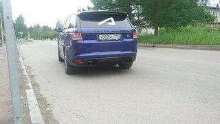 Land Rover Sport SVR loud exhaust #AcademeG