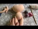 Интерьерная кукла - Процесс создания Куколки *_*