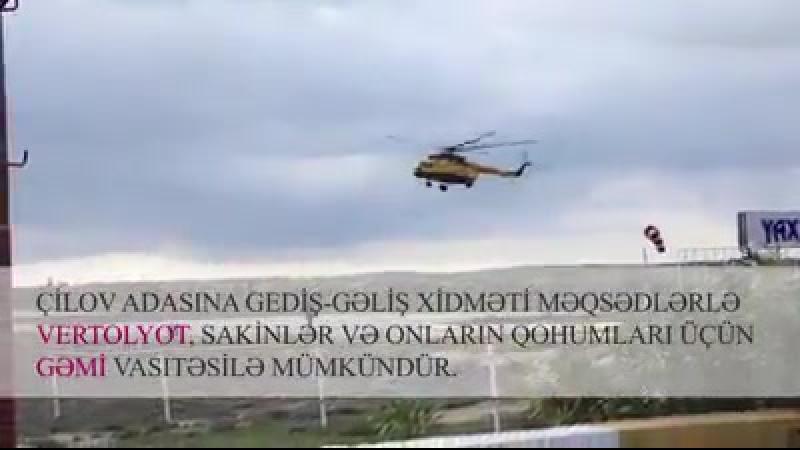 Abşeron arxipelaqının unikallığı ilə seçilən Çilov adası haqqında bilmədiyiniz faktları təqdim etdiyimiz video reportajdan öyrən
